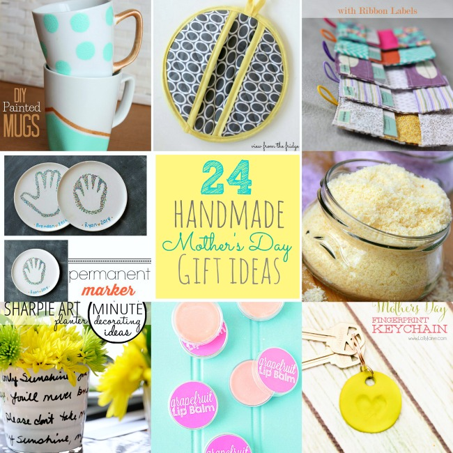 Great Ideas -- 24 Mother's Day Handmade Gift Ideas