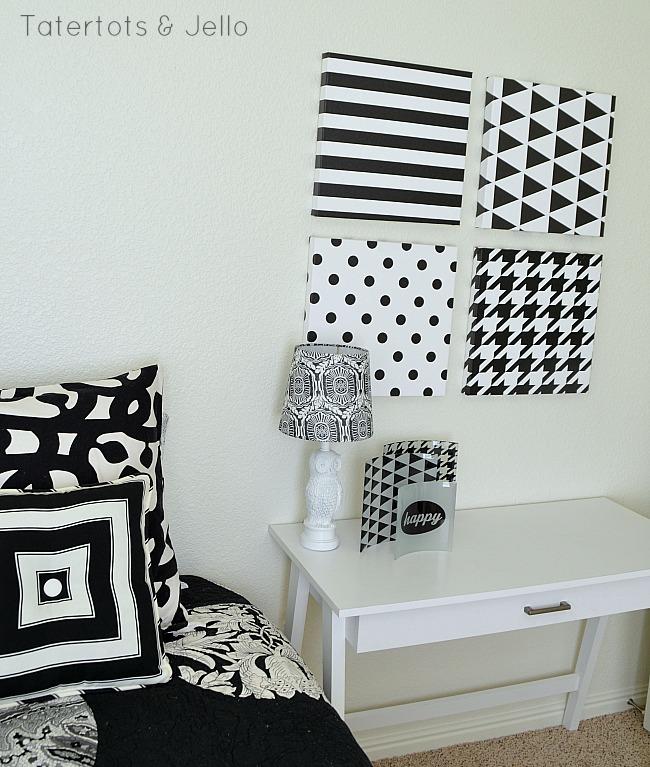 black and white decor ideas TTJ