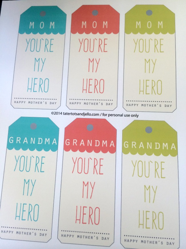 free mother's day printables at tatertots and jello