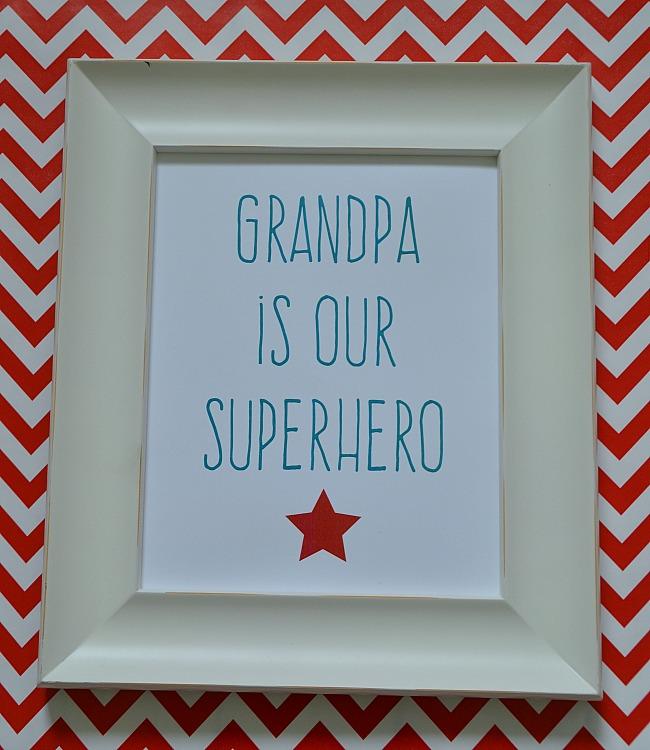 grandpa superhero free printable from tatertots and jello