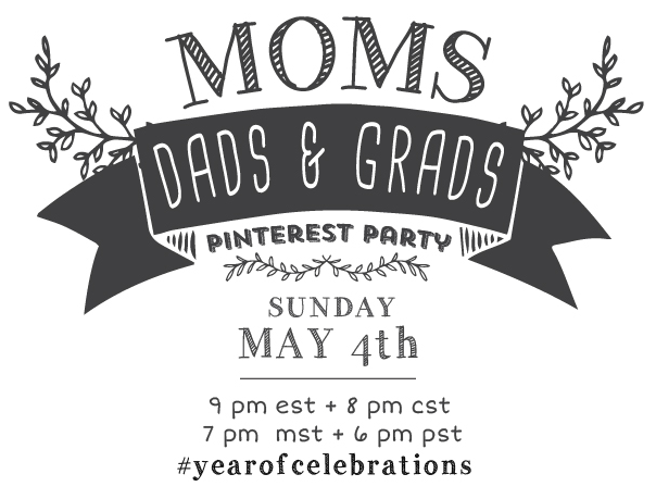 moms and grads pinterest party image