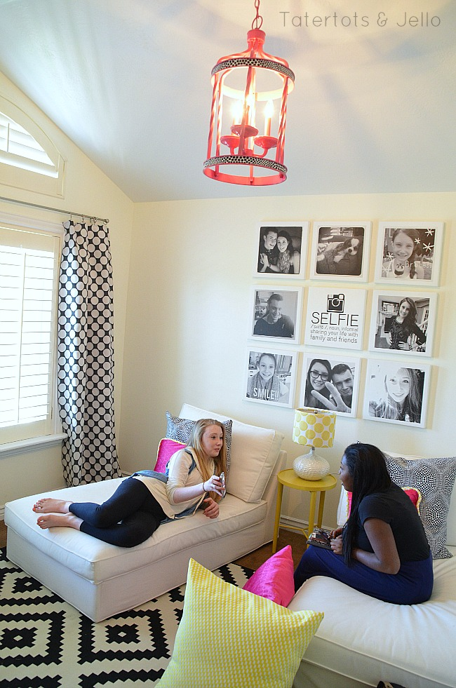 Teen tween hangout room reveal inawaverlyworld