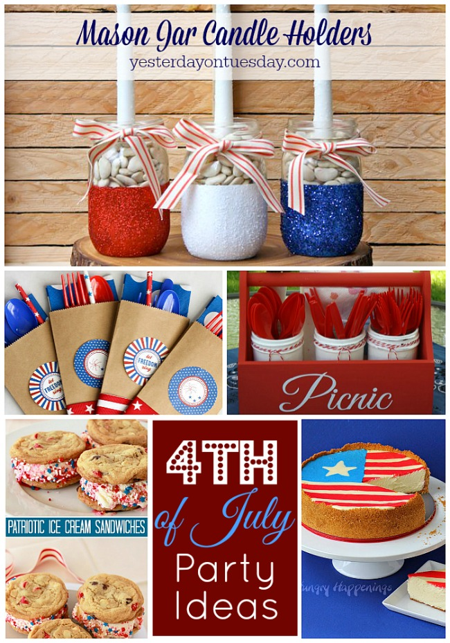 Great ideas 20 fourth of july party ideas for 4th of july celebration ideas