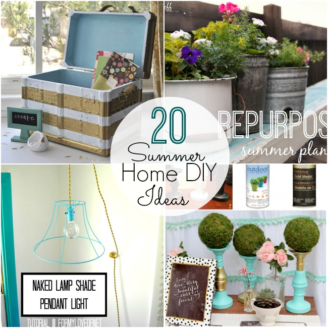 20 Summer House Design Ideas: Great Ideas -- 20 Summer Home DIY Ideas