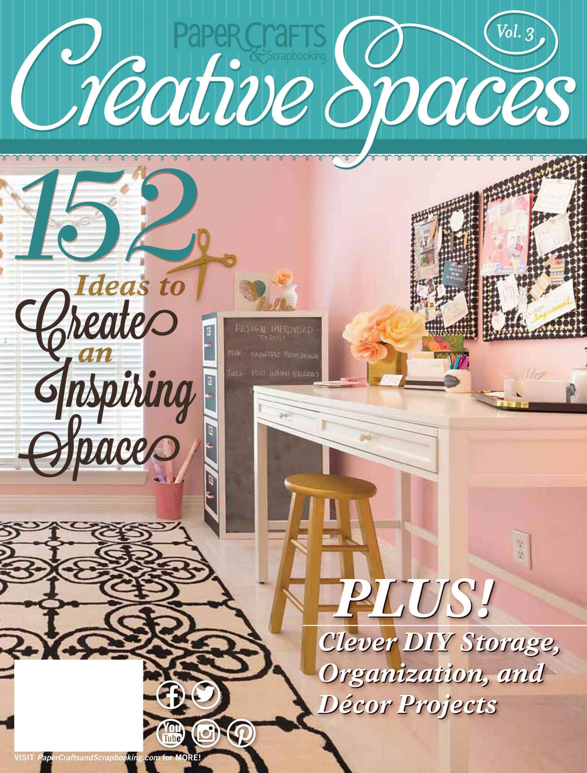 Inspiring Creative Spaces! [Blog Hop!] #creativespacesvol3