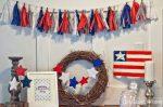 DIY Patriotic Tassel Garland
