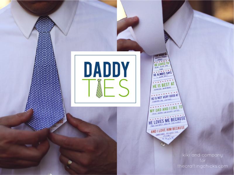 Printable Dad Ties