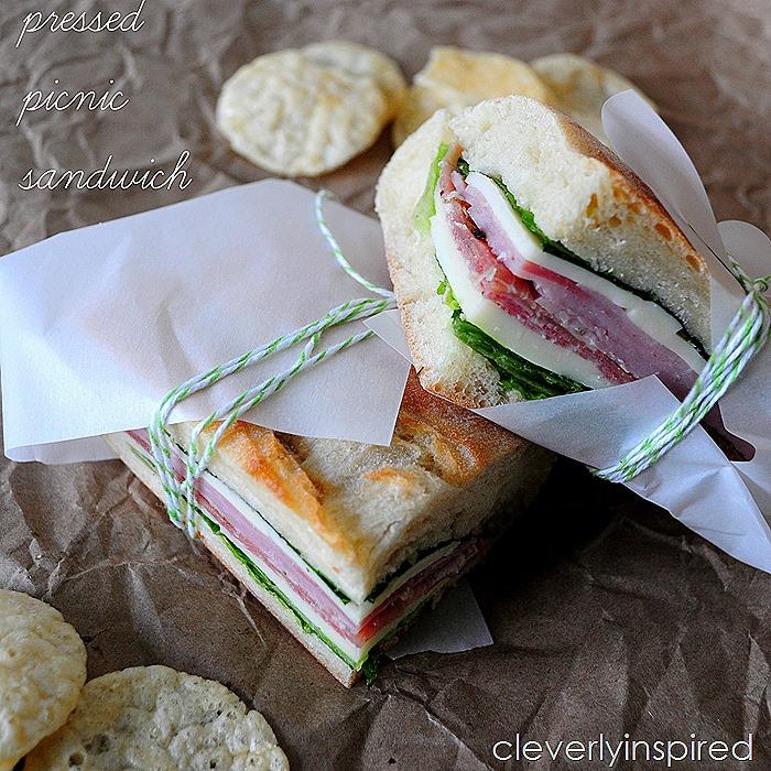Pressed Picnic Sandwich recipe