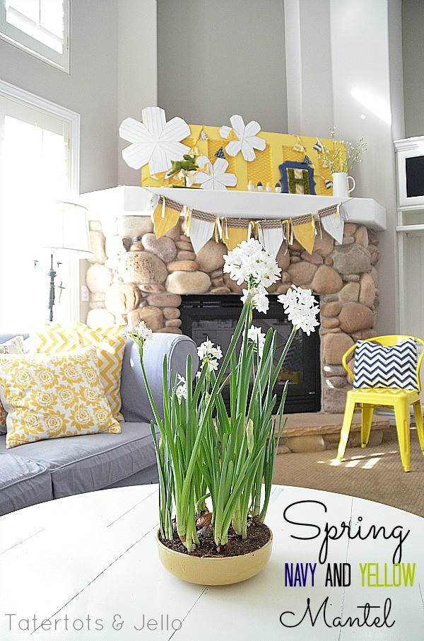 spring-navy-and-yellow-mantel
