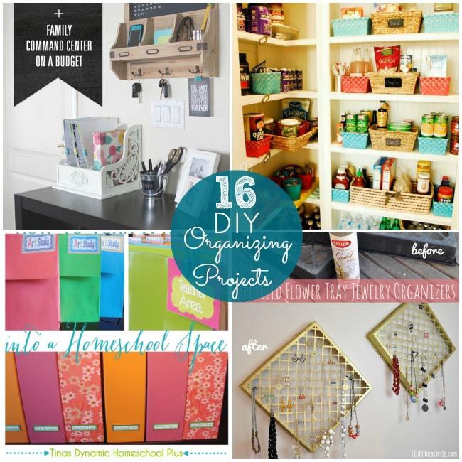 16 diy organizing projects