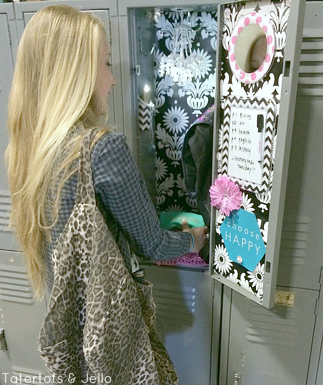 Back to school locker decorating tatertots and jello for Home craft expressions decor