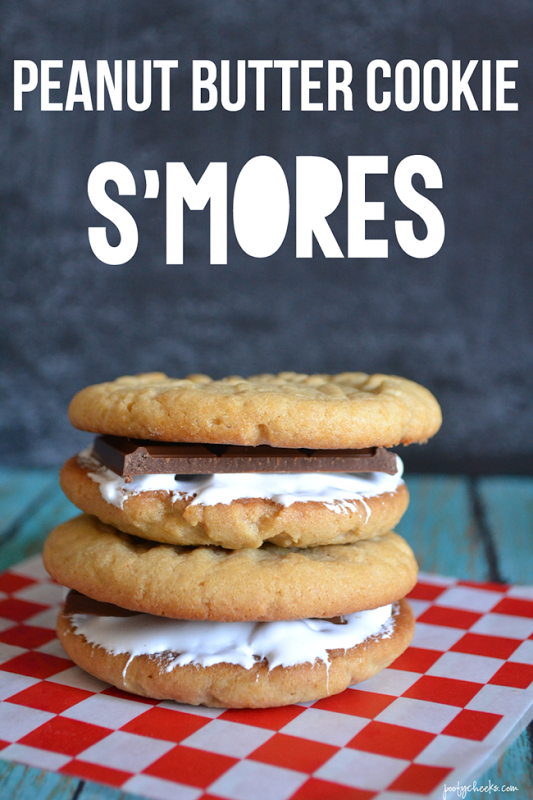 cookie peanut peanut butter s mores cookie gooey ritz peanut butter ...