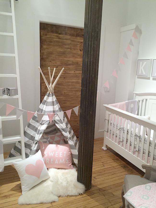 shutterfly nursery tent and crib