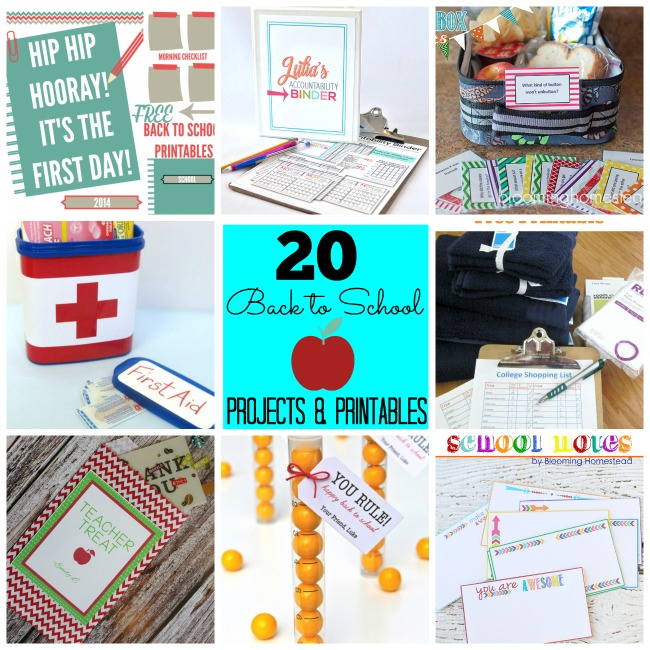 Great Ideas 20 Diy Back To School Projects Amp Printables