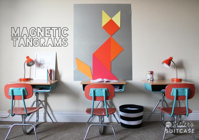 DIY-magnetic-board-and-tangrams