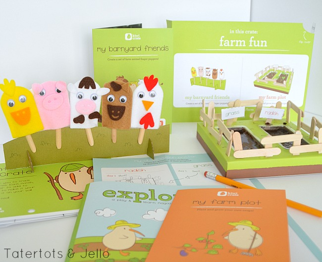 barnyard friends kiwi crate