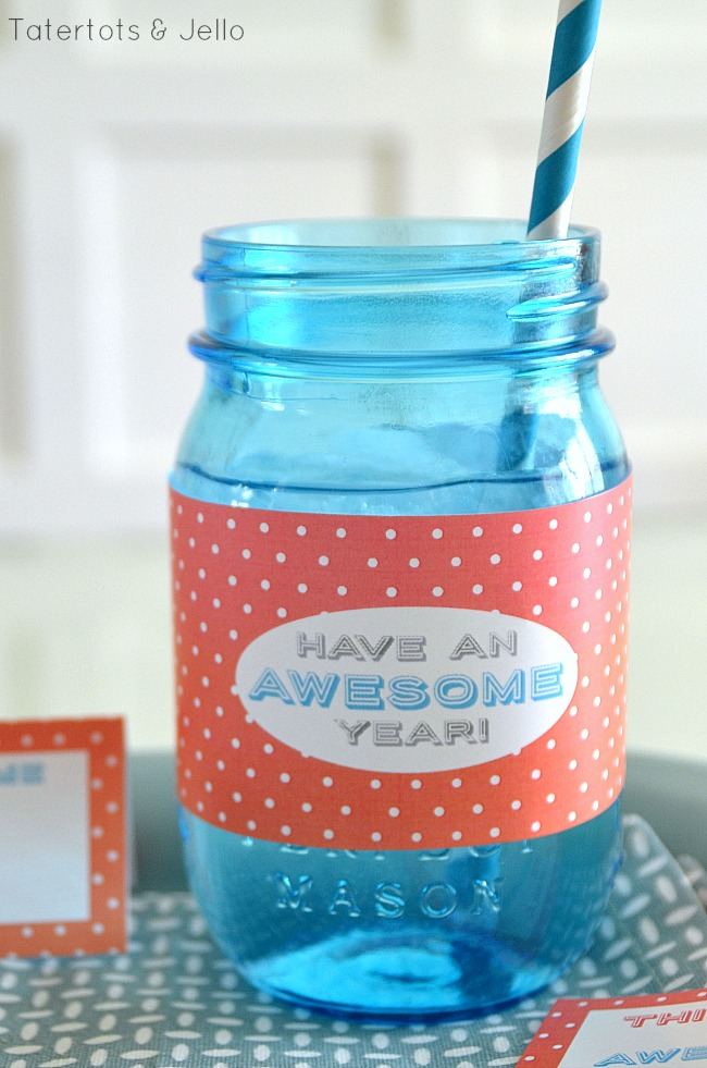 have an awesome year mason jar wraps at tatertots and jello