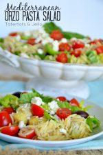 Mediterranean Orzo Salad Recipe!