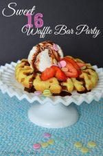 Free Birthday Waffle Bar Ideas & Printables!!