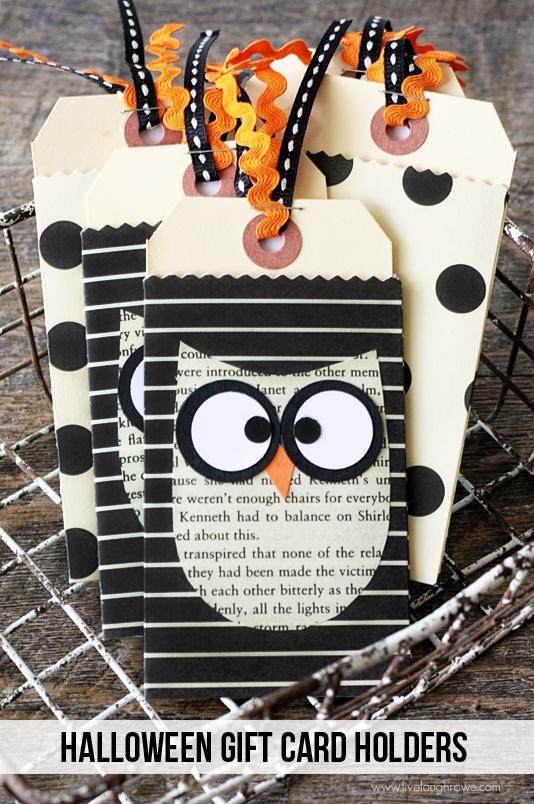 Halloween Gift Card Holders