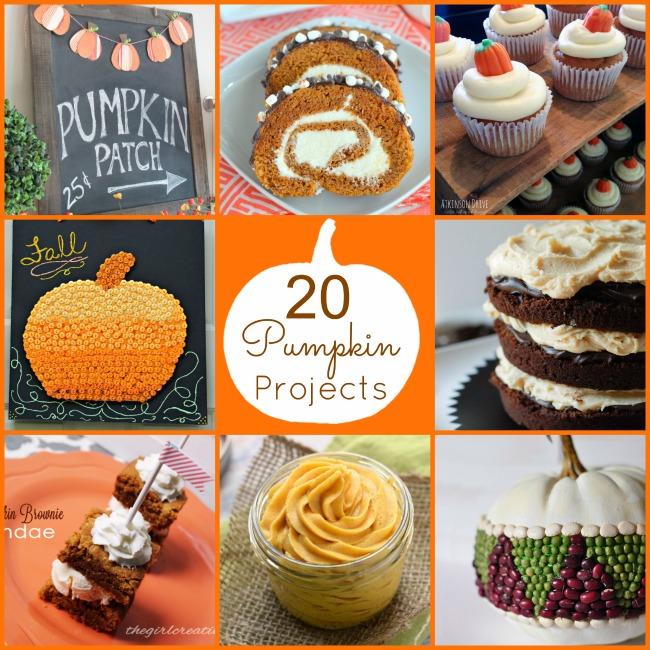 20 pumpkin projects