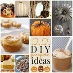 Great Ideas — 22 DIY Pumpkin Ideas!