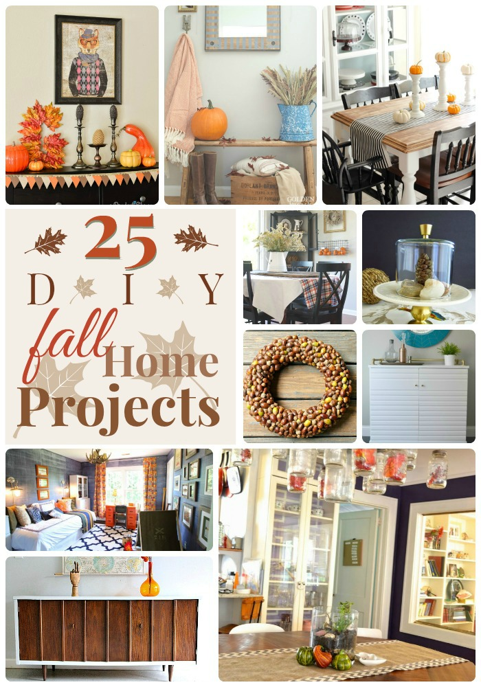 Great Ideas 25 Diy Home Fall Projects