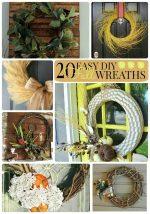Great Ideas — 20 Easy DIY Fall Wreaths!