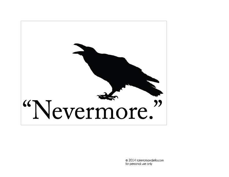 raven-nevermore-5x7-printable-tatertotsandjello.com
