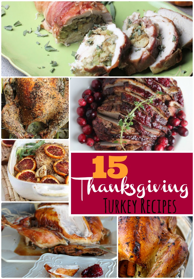 15 Thanksgiving Turkey Recipes to Try This Year!