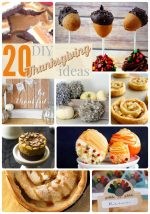 Great Ideas — 20 DIY Thanksgiving Ideas Part Two!