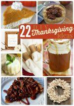 Great Ideas — 22 DIY Thanksgiving Ideas!