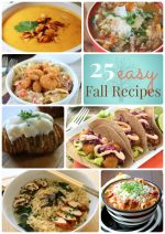 Great Ideas — 25 Easy Fall Dinner Ideas!