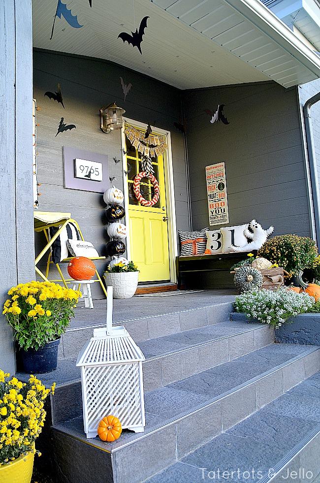 fall front porch at tatertots and jello