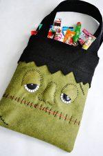 DIY Monster Trick or Treat Bag