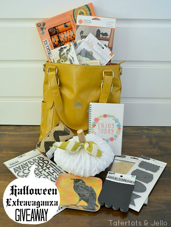 halloween extravaganza giveaway at tatertots and jello