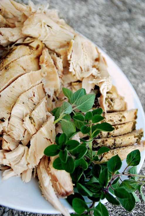 olive oil turkey recipe