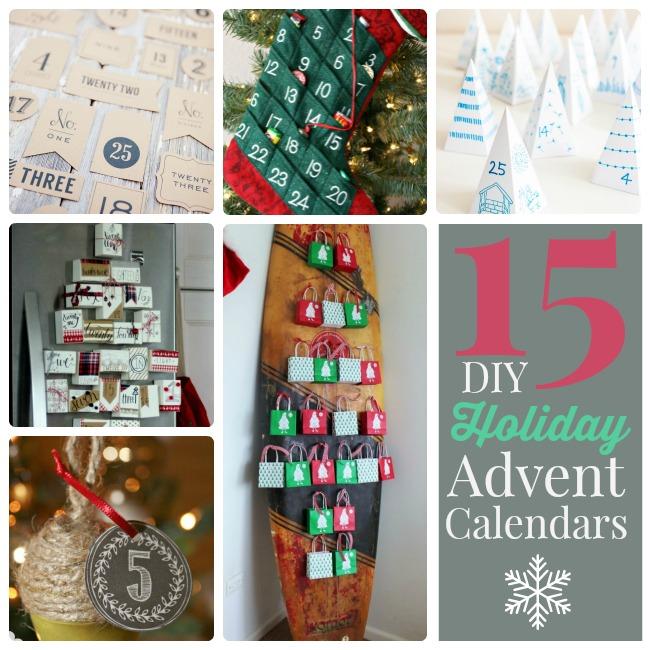 Great Ideas 15 Diy Holiday Advent Calendar