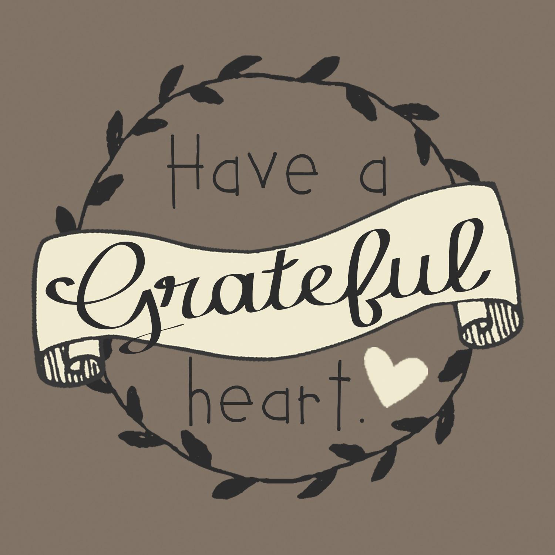 Grateful Heart Printable