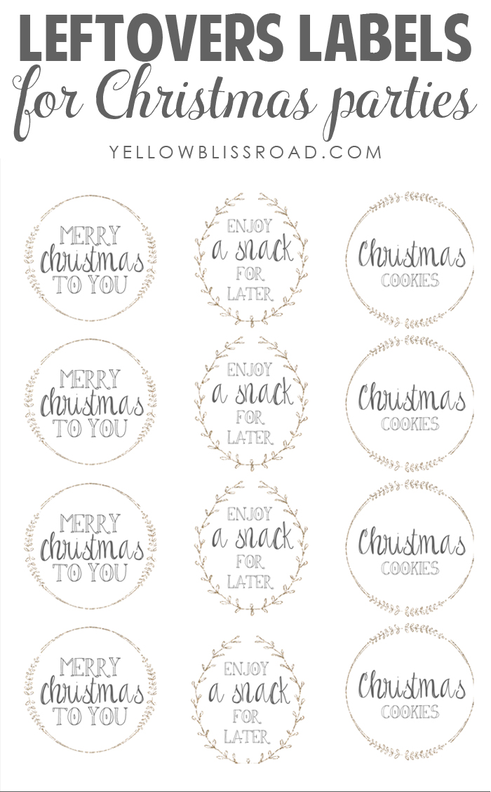 Leftovers-Labels-for-Christmas-Parties