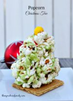 HAPPY Holidays: Popcorn Christmas Trees