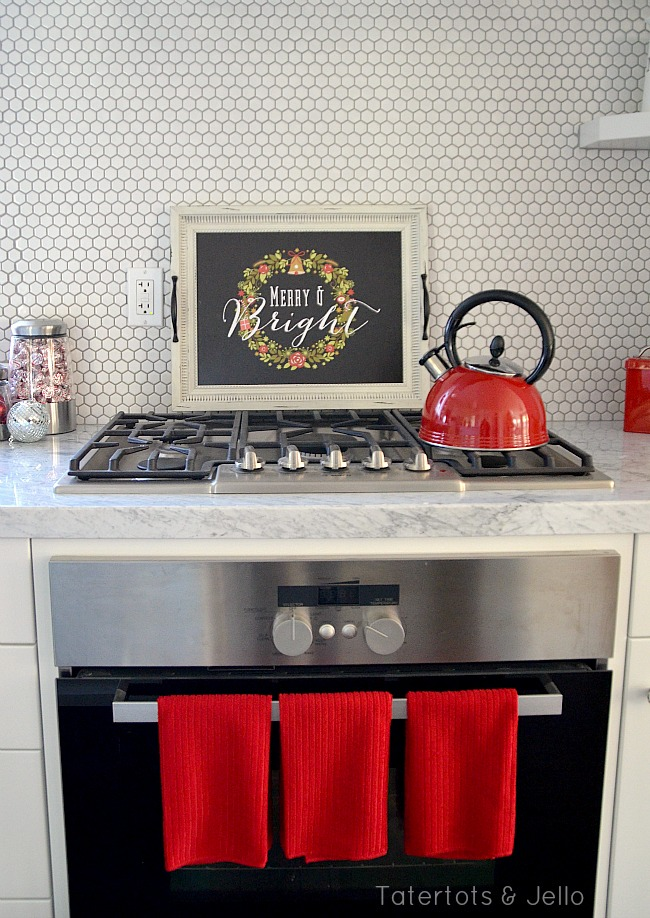 holiday kitchen makeover with big lots at tatertots and jello