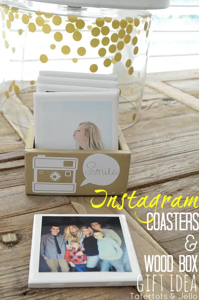 Instagram Coasters and DIY Box
