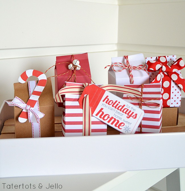 milk carton container decorating ideas for the holidays at tatertots and jello