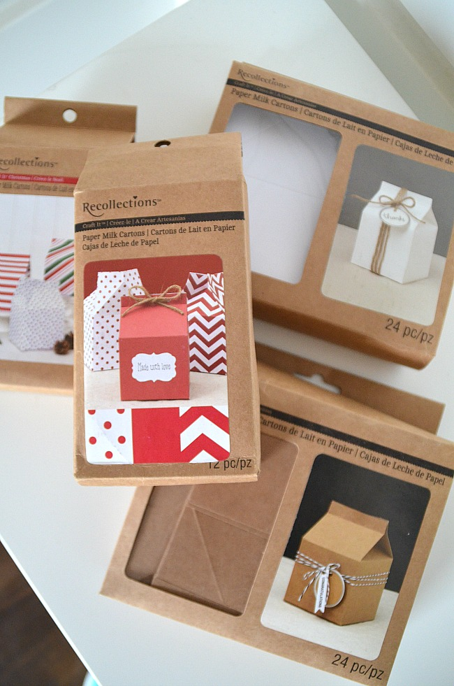 milk container gift packages from michaels
