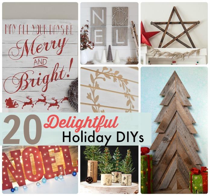 20 delightful holiday diys