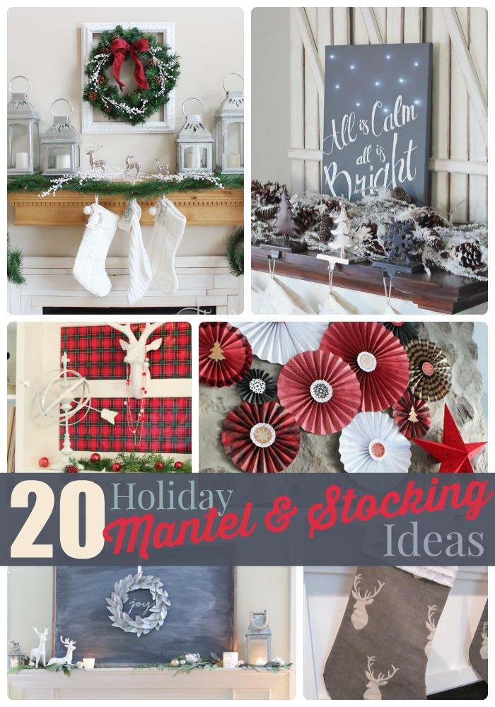 20.holiday.mantel.stocking.ideas