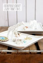 HAPPY Holidays: Anthropologie Knockoff Trinket Dishes