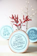HAPPY Holidays: Faux Hand Painted Sign