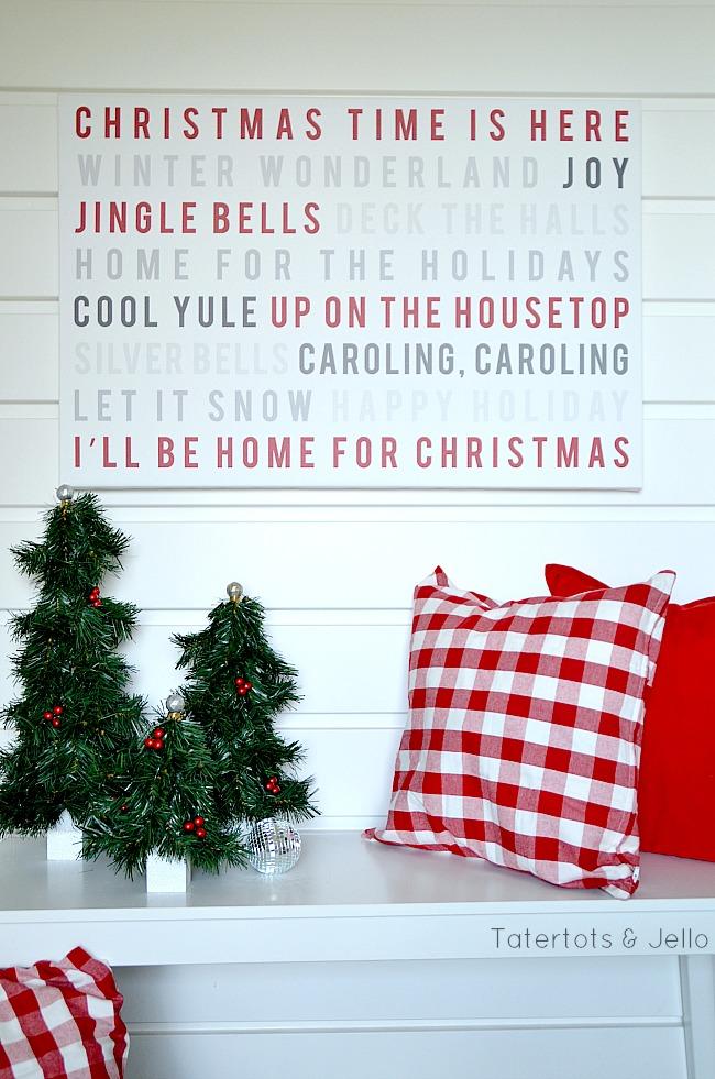 christmas song art using shutterfly at tatertots and jello